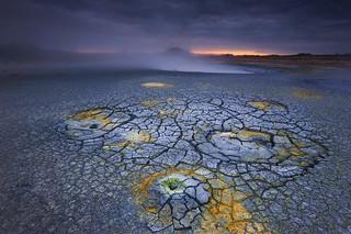 Geothermal field, Iceland