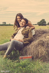 Candid - HouseOfElliot © (HouseOfElliot) Tags: houseofelliot house of elliot hausvonelliot hausvonelliøt wwwhouseofelliottk elliotjtomkins elliottomkins emma christie jason gill vintage ww2 wwii hay farm summer uk london luton dunstable caddington crops field smoking smoke tractor trailer photoshop adobe lightroom girl boy couple relationship nude naked grass nikon d5300 mac mumford sons little lion man spitfire plans planes lut called looking paths crossing hard work break packed smiles