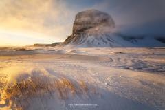 THE WALL (fran.llano) Tags: iceland islandia winter light sunset goldenhour amazing trip incredible