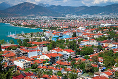 Cityscape, Fethiye, Muğla, Turkey (Feng Wei Photography) Tags: traveldestinations fethyie eastasia harbor cityscape mediterraneansea turquoisecoast turkeymiddleeast mediterraneanturkey tranquilscene beautiful touristresort relaxation outdoors horizontal lycia muglaprovince peaceful scenics city colorimage sea beach idyllic buildingexterior coast remote highangleview gettingawayfromitall travel turkishculture tourism euroasia turkish fethiye muğla turkey tr