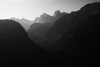 no peace @Pizzo Cengalo . Val Bregaglia