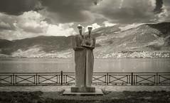 Together (panos_adgr) Tags: nikon d7200 bw landscape statue ioannina greece travel epiros lake water clouds sky mountain detail macedoniagreece makedonia timeless macedonian macédoine mazedonien μακεδονια