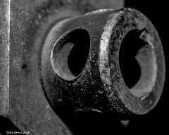 Tighten Here (that_damn_duck) Tags: blackwhite industrial metal machinery bw blackandwhite