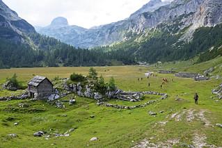 Velo polje (1680 m), Triglavski narodni park, Slovenija / Velo polje (1680 m), Triglav National Park, Slovenia