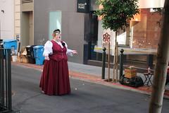 Mont Blanc (Dill Pixels (THE ORIGINAL)) Tags: sanfrancisco city street urban scene costume singer opera livinglarge red velvet culture woman