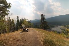 HBM Happy Bench Monday (davebloggs007) Tags: hbm happy bench monday cat creek trail alberta canada mountains