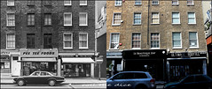 Melcombe Street`1975-2017 (roll the dice) Tags: london westminster w1 marylebone streetfurniture architecture vanished demolished local history sad mad changes collection bygone old retro oldandnew pastandpresent hereandnow canon tourism tourists uk art classic sherlock urban england firstquenchretailing offlicence booze drink beer fashion seventies shops shopping unwins clarencegate spa bodytec fit body gym windows price wine snacks breakfast tea fitness