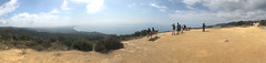 011 The View From Parker Mesa Overlook (saschmitz_earthlink_net) Tags: 2017 california topangacanyon statepark losangeles pacificpalisades palisadeshighlands losangelescounty santamonicamountains hike hiking parkermesa bench ocean pacificocean santamonicabay