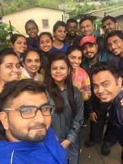 Selfie time of Dit india Team