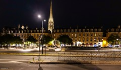 Night in Bordeaux -Happy Fence Friday (YᗩSᗰIᘉᗴ HᗴᘉS +8 000 000 thx❀) Tags: fence fences happyfencefriday night bordeaux france architecture hensyasmine town city cityscape