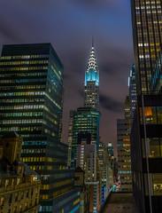 Chrysler building, New York (KF-GR) Tags: nikon d750 nikond750 travel tourism buildings newyork ny cityscape longexposure fx lights tamron70200 tamron70200mmf28vcg2 city fullframe night
