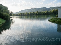 RHE324 Sissle Flussmündung (River Mouth) into the Hochrhein, Sisseln, Canton Aargau, Switzerland (jag9889) Tags: 2017 20170823 ag aargau ch cantonaargau cantonofaargau confluence europe fluss helvetia highrhine hochrhein kantonaargau laufenburg outdoor rein reno rhein rhin rhine rijn river schweiz sisseln stream strom suisse suiza suizra svizzera swiss switzerland tributary wasser water waterway jag9889