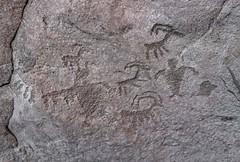 Petroglyphs / Mill Creek Canyon (Ron Wolf) Tags: anthropology archaeology fremont moab nativeamerican anthromorph anthropomorph bighornsheep panel petroglyph rockart zoomorph utah