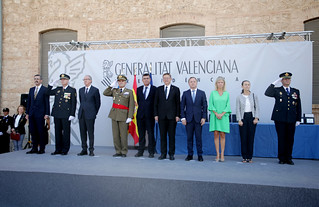 El president de la Generalitat, Ximo Puig, ha asistido a la conmemoración del Día de la Policía Nacional adscrita a la Comunitat Valenciana. 23/09/2017