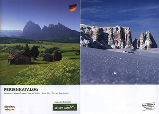 Seiser Alm / Alpe di Siusi - Ferienkatalog  Kastelruth, Seis am Schlern, Völs am Schlern, Seiser Alm, Tiers am Rosengarten; 2017;  South Tyrol, Italy