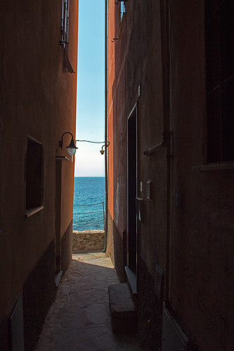 Alleyway in Camogli