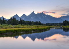 Schwabachers Landing Sunset (Starman_1969) Tags: barn grand hole jackson moulton mountains road teton wyoming