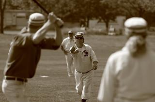 Vintage Baseball, Cantigny Park. 27 (EOS)