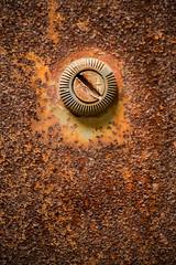Screw It 3-0 F LR 9-16-17 J103 (sunspotimages) Tags: screw metal rustedmetal building artwork artistic macro rust closeup