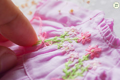 Handmade Embroidered Dresses (Ylang Garden) Tags: handmade embroidered dresses latiyellow pukifee
