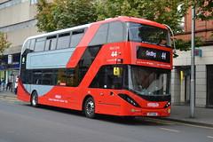 NCT Scania N280UD 415 YP17UGG - Nottingham (dwb transport photos) Tags: nct nottinghamcitytransport scania alexander dennis enviro city bus decker 415 yp17ugg nottingham