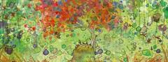 Sem título (pintura digital, acrílica e em aquarela | 2014). Jennifer Carriker