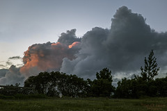 Storm cloud at sunset -Explore (Patrick Dirlam) Tags: sunset clouds our house moon sky explore explored