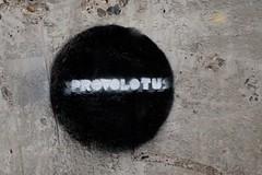 Provolotus Sphere (LookSharpImages) Tags: lime oregon limeoregon abandoned abandonedspaces provolotus sphere circle graffiti