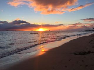 Maui Sunset - 1