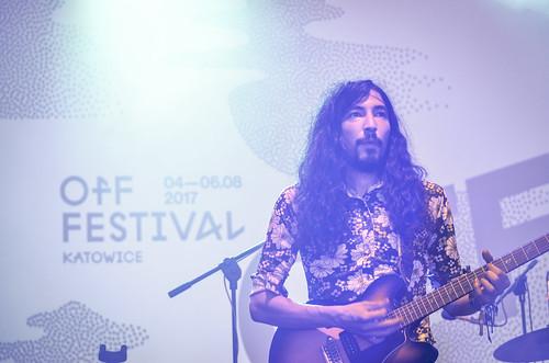 2017 - OFF Festival Katowice (POL) (128) - Kikagaku Moyo