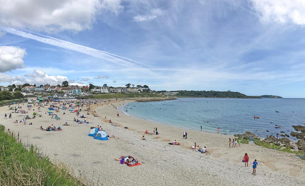 Gyllyngvase Beach, Falmouth