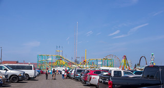 Arriving at the fair