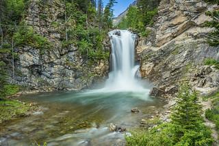 Running Eagle Falls (Trick Falls)
