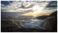 (Frank S. Schwabe) Tags: coast canon cloudy clouds kristiansund karihola nordmøre norge norway ndfilter nature sunset summer sunlight sun sea shore ef24mmf28isusm eos evening