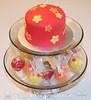 Summer Themed Cake and Cake Truffles Set
