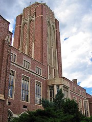 University of Denver: Mary Reed Building (AntyDiluvian) Tags: denver colorado university college campus universityofdenver du building architecture hall maryreedhall library