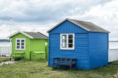 Ærø 2017 - Ærøskøbing - grønt og blåt hus