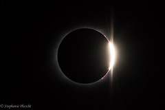 """Diamond Ring"" Effect (stephaniepluscht) Tags: tennessee edgar evins evans state park center hill reservoir august 21 2017 solar eclipse totality diamond ring effect"