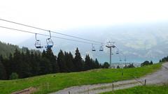 Chairlift (marieckejanssen) Tags: chairlift stoeltjeslift glarus zwitserland green mountain recreation trees bomen bilndphotographer groen vert berg