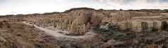 Aguarales de Valpalmas (Antonio Goya) Tags: aguarales valpalmas aragon huesca zaragoza desert desierto españa spain olympus omd dng dzoom xataca panoramica panoramic