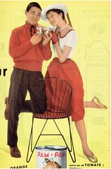 2017-08-04 mode jeunes 1957 Match (april-mo) Tags: 1957 match 1957match fashion vintagefrenchmagazine vintagemagazine vintagead softdrink tomatojuice pampam 1957youngcouple teens 1957teens