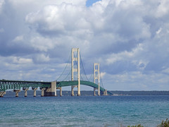 Mackinaw City (ionnature) Tags: northernmichigan lighthouse mackinacbridge