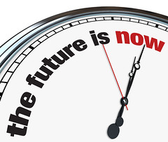 The Future is Now - Ornate Clock (shawnflee) Tags: clock time future futuristic now present tense tomorrow motivate motivation motivating inspire inspiration plan planning forward ahead looking warn warning communicate communication theraphy give giving kind kindness help countdown counting down deadline icon illustration handswhite red