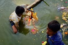 """Ganesh """"Visarjan"""" 2017 - 01 (Rajesh_India) Tags: ganesh ganeshfestival hussainsagarlake hyderabad"""
