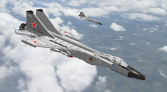 01 Mikoyan MiG-31BM Foxhound (Kurt's MOCs) Tags: ldd lego mig31 mikoyan foxhound military air force russian ussr kurtsmocs kurt