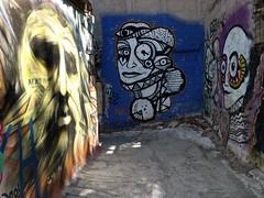 Athens street art - Three faces (ashabot) Tags: athens athensgreece streetart 2017