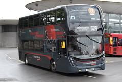 NXWM 6761 @ Wolverhampton bus station (ianjpoole) Tags: national express west midlands alexander dennis enviro 400mmc sn16ouu 6761 working platinum route 529 wolverhampton bus station walsall st pauls
