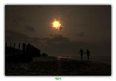 HOLD YOUR HAND (régisa) Tags: plage sable sunset coucher soleil pasdecalais escardines écardines oyeplage sand orchestralmanoeuvresinthedark omd isa manche channel
