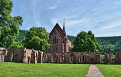 Marienkapelle von Kloster Hirsau (chrissie.007) Tags: deutschland badenwürttemberg calw hirsau marienkapelle kloster klosterruine ruine klosteranlage klosterhirsau kapelle kirche gotik