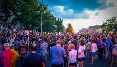 2017.08.13 Charlottesville Candlelight Vigil, Washington, DC USA 8128